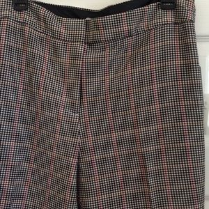 Women's Plaid pants slacks size 18 NWT